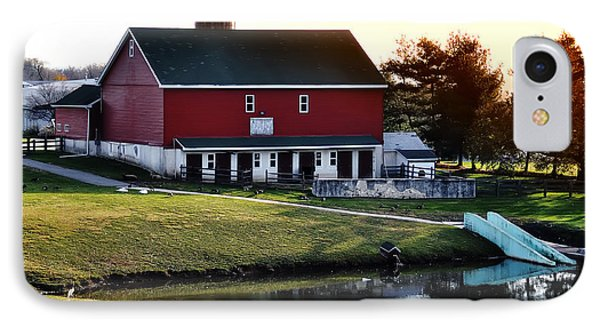 In The Barn Yard Phone Case by Bill Cannon