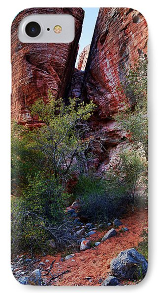 In The Canyon IPhone Case by Rick Berk