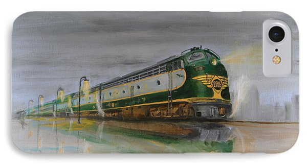 In The Cold Mist Phone Case by Christopher Jenkins