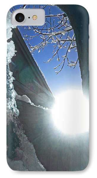 IPhone Case featuring the photograph In The Cold Of The Sun by Steve Taylor