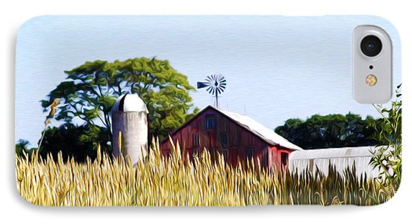 In The Farmers Field Phone Case by Bill Cannon