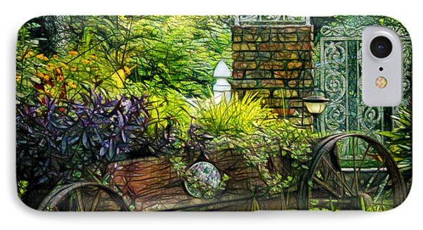 In The Garden Phone Case by Judi Bagwell
