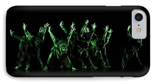 In The Green Light Phone Case by Raffaella Lunelli