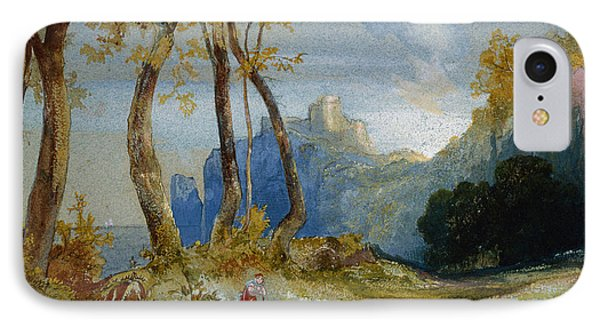In The Hills IPhone Case by Thomas Moran