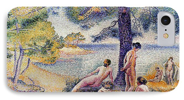 In The Shade IPhone Case by Henri-Edmond Cross