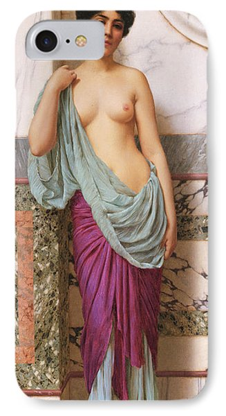 In The Tepidarium IPhone Case by John William Godward