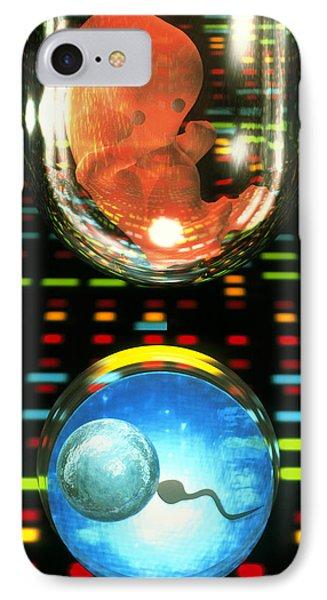 In Vitro Fertilization Phone Case by Laguna Design