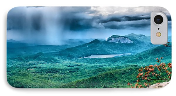 IPhone Case featuring the photograph Incoming Storm by Lynne Jenkins