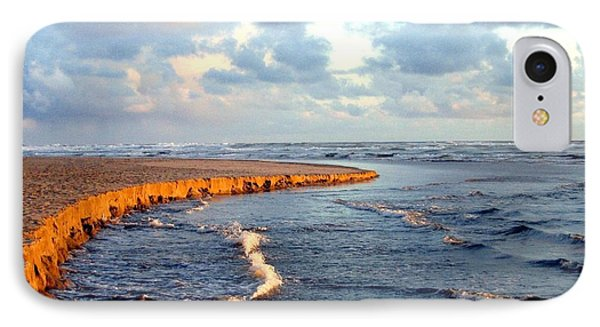 IPhone Case featuring the photograph Incoming Tide At Sundown by Will Borden