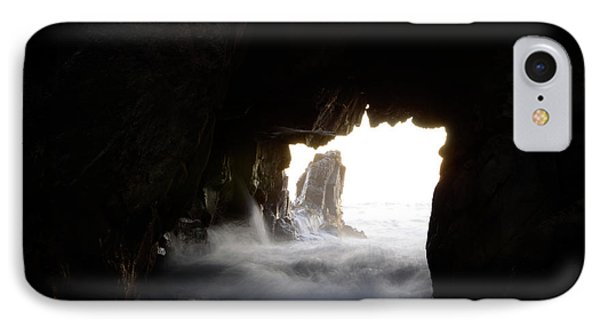 Incoming Tide Big Sur Phone Case by Bob Christopher
