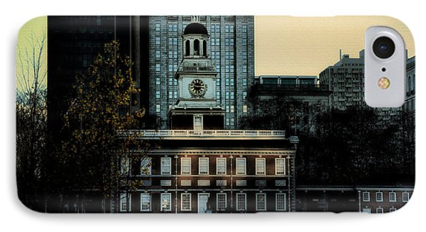 Independence Hall - The Cradle Of Liberty Phone Case by Bill Cannon