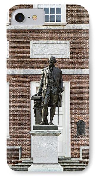 Independence Hall Philadelphia Phone Case by John Greim