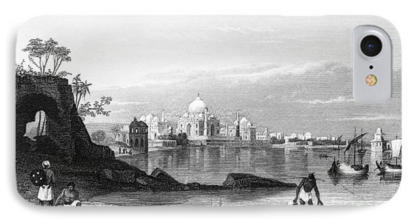 India: Taj Mahal, C1860 Phone Case by Granger