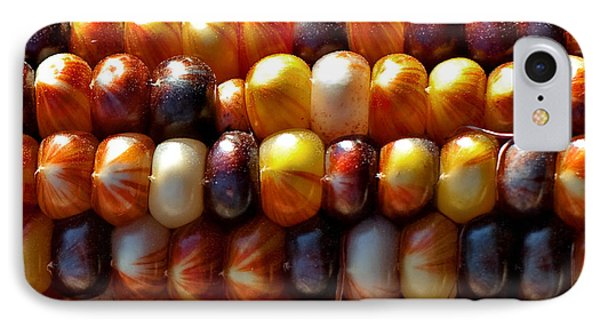 IPhone Case featuring the photograph Indian Corn by Barbara McMahon