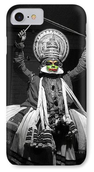 Indian Kathakali Dance Of Kerela 2 Phone Case by Sumit Mehndiratta
