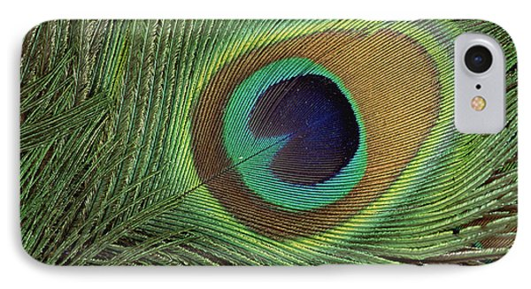 Indian Peafowl Pavo Cristatus Display Phone Case by Gerry Ellis