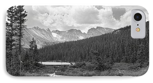 Indian Peaks Summer Day Bw Phone Case by James BO  Insogna