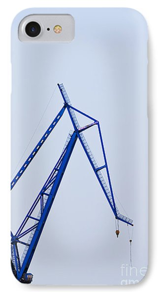 Industrial Crane Phone Case by Sam Bloomberg-rissman