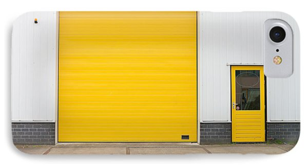 IPhone Case featuring the photograph Industrial Warehouse by Hans Engbers