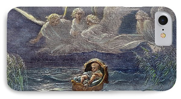 Infant Moses On Nile IPhone Case