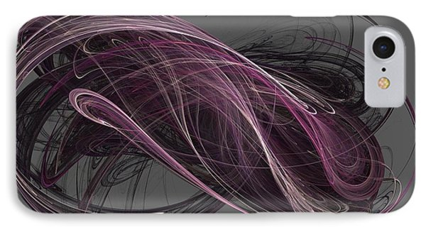 IPhone Case featuring the digital art Infinity by Kim Sy Ok