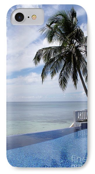 IPhone Case featuring the photograph Infinity Pool Big Corn Island Nicaragua by John  Mitchell