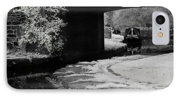 IPhone Case featuring the photograph Infrared At Llangollen Canal by Beverly Cash