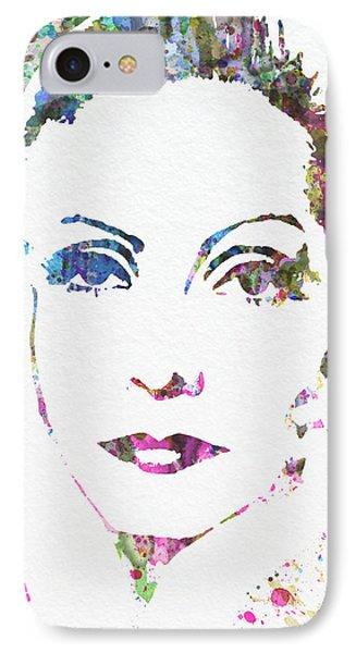 Ingrid Bergman  IPhone Case by Naxart Studio