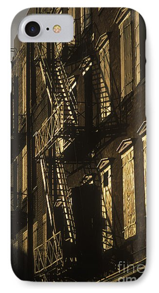 Inner City Fire Escapes Phone Case by Will & Deni McIntyre