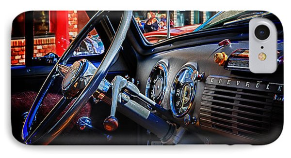 Inside Chevy Phone Case by Lori Frostad