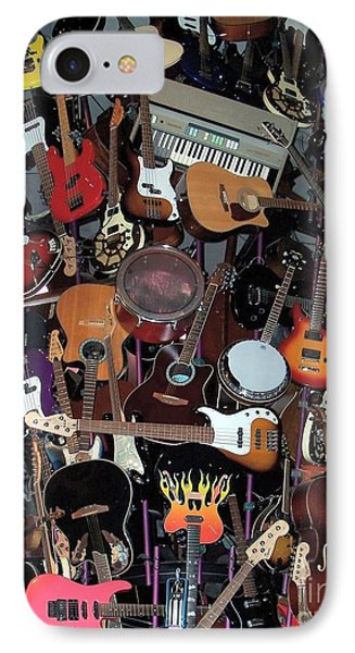 Instruments Phone Case by Chalet Roome-Rigdon