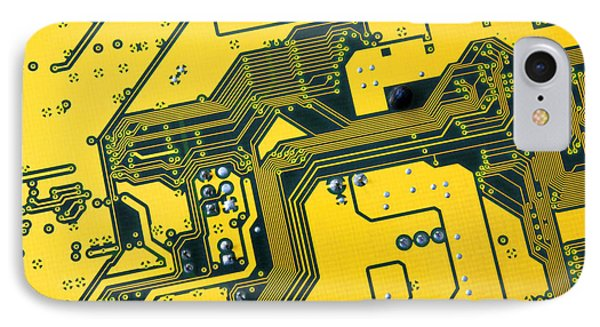 Integrated Circuit Phone Case by Carlos Caetano