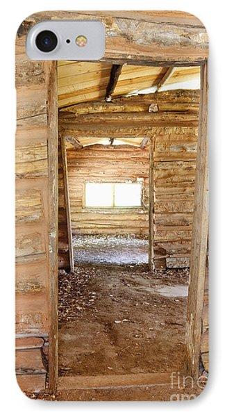 Interior Of A Pioneer Cabin IPhone Case by Bryan Mullennix