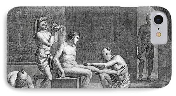 Interior Of Egyptian Bath Phone Case by Granger
