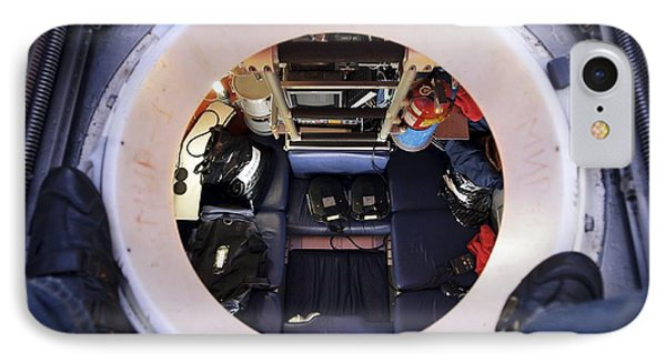 Interior Of Mir-1 Submersible IPhone Case