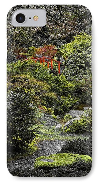 Intimate Garden IPhone Case by Ken Stanback