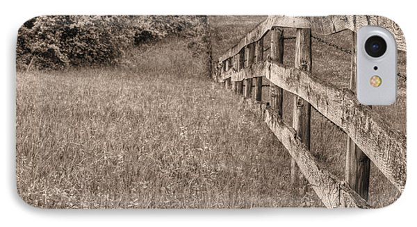 Into The Distance Bw Phone Case by JC Findley