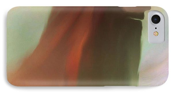 IPhone Case featuring the painting Into The Light Of Jesus by Sherri  Of Palm Springs