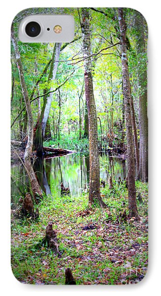 Into The Swamp Phone Case by Carol Groenen