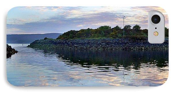 IPhone Case featuring the photograph Inverkip Marina by Lynn Bolt