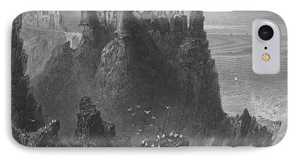 Ireland: Dunluce Castle Phone Case by Granger