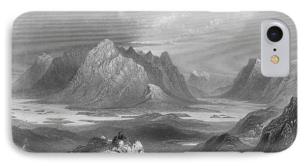 Ireland: Lough Inagh, C1840 Phone Case by Granger