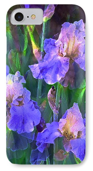 Iris 51 Phone Case by Pamela Cooper