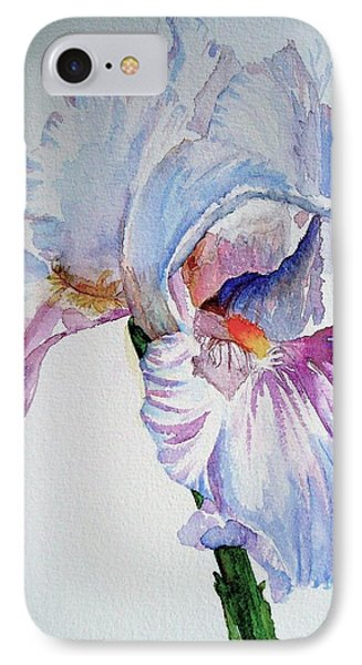 Iris In The Garden IPhone Case by Sharon Mick
