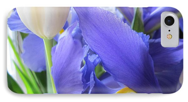 IPhone Case featuring the photograph Iris Petal by Arlene Carmel