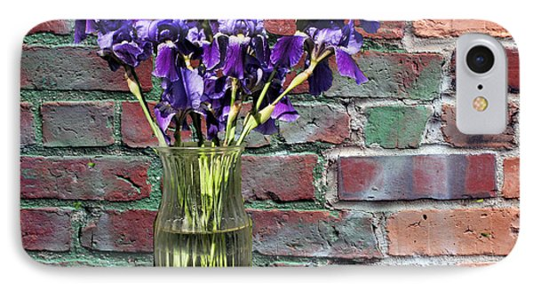 Iris Vase IPhone Case by Rick Friedle