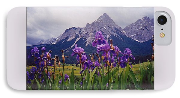 Irises In Austria IPhone Case