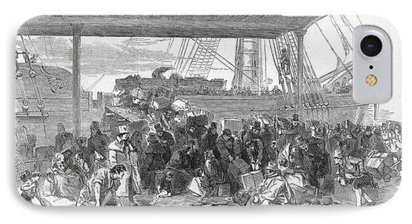 Irish Emigration Phone Case by Granger