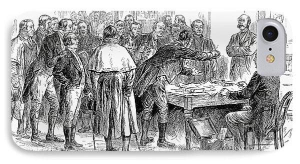 Irish Land League, 1886 Phone Case by Granger