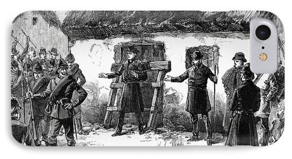 Irish Land League, 1887 Phone Case by Granger